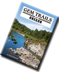 Gem Trails of Oregon - by Romaine, From pine-covered mountains to barren deserts and coastal beaches, this completely revised edition features over 100 of Oregon's best rock, mineral and fossil collecting sites – including 40 completely new locations throughout the state.  Color and black and white photos highlight collecting areas and the specimens found there.  Complete with New GPS coordinates, road difficulty ratings, tools required, nearby camping and local attractions, best collecting season. Softcover 272 pages.